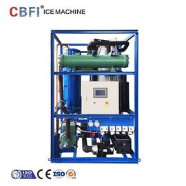 China 3T Ice Tube Maker Machine With Germany Bitzer Compressor Freon System factory