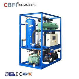 China CBFI Water Cooling 1 Ton Ice Tube Machine with Siemens system factory