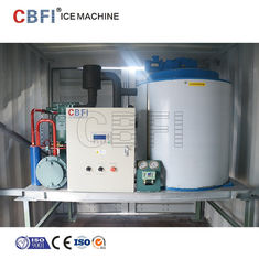 China 1mm - 2mm Thickness Flake Ice Machine With Germany Bitzer Compressor factory