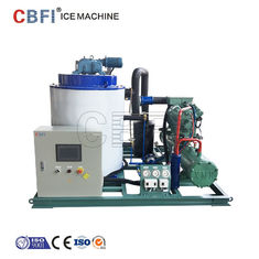 China Germany Siemense PLC Edible Ice Flake Machine , Industrial Ice Maker Machine  factory