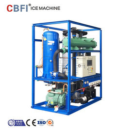 China Automatical 3 Ton Tube Ice Maker , Daily Capacity 3000kg / 24h factory
