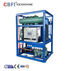 China Water Cooling 5 Ton Ice Tube Machine with Germany Bitzer Compressor factory
