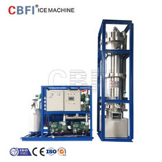 China R22 Refrigerant Edible Level Ice Tube Machine 20,000 Kg Daily Capacity factory