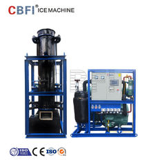 China CBFI 15 Ton Ice Tube Machine With Touch Screen Energy Saving factory