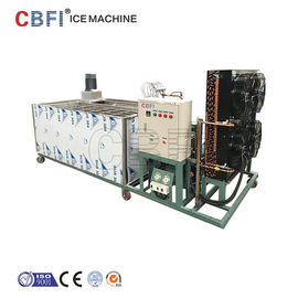 China Automatic Stainless Steel Ice Block Ice Machine Used in Fishery / Precooling supplier