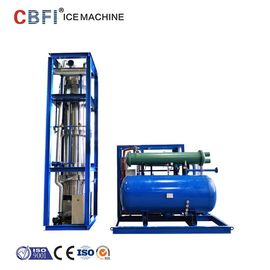 China Low Power Consumption Ice Tube Machine For Supermarkets / Cold Drink Shops factory