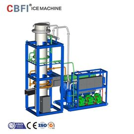 China Air Cooled / Water Cooled Ice Tube Machine With Italy Castel Solenoid valve factory