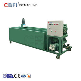 China 1000Kg - 100000Kg Capacity Ice Block Machine With PLC Controller supplier