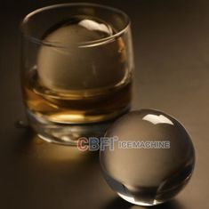 China 100% transparent ball ice forming machine with pure ice machine for beer and whiskey supplier