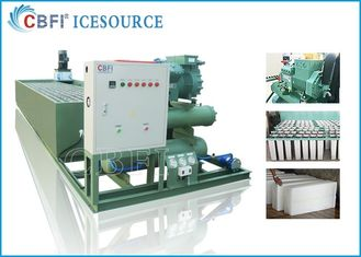 China Customized Voltage Ice Block Machine With Germany Bitzer Compressor supplier