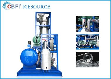 China CBFI 20 Ton Tube Ice Maker Machine With PLC Automatic Controling System factory