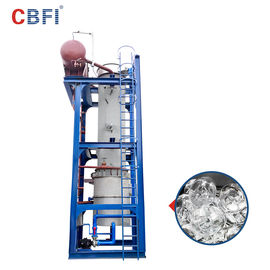 China 60 Tons Per Day Ammonia Refrigerant Ice Tube Machine 12 Months Warranty factory