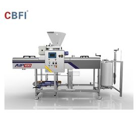 China Automatic Ice Machine / Ice Cube Machine With Full Automatic Packing System factory