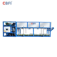 Energy Saving Industrial Ice Making Machines / Ice Machine Restaurant