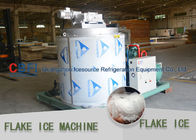 Stainless Steel Evaporator Flake Ice Machine Commercial For Aquatic / Meat Freshing
