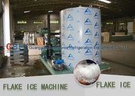 Market Cooling Fish / Vegetable Flake Ice Making Machine Fresh Ice Bitzer Compressor supplier