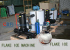 Large Seafood Meat Crush Ice Machine / Ice Crusher Machine Commercial  supplier