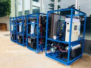 Energy Efficiency 22mm Ice Tube Machine Water Cooling With Condenser