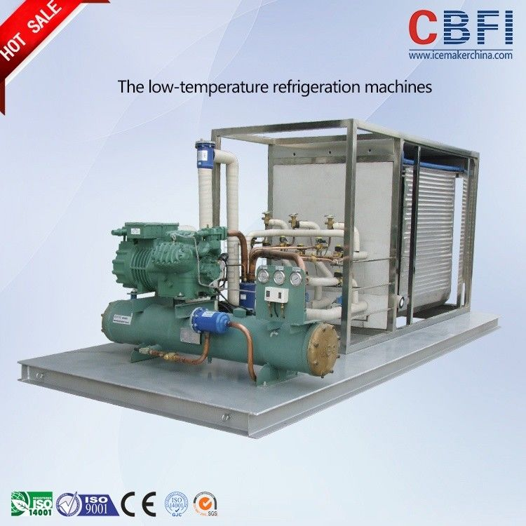 Saving Energy Lower Temperature Chiller with Stainless Steel Material Water Tank supplier