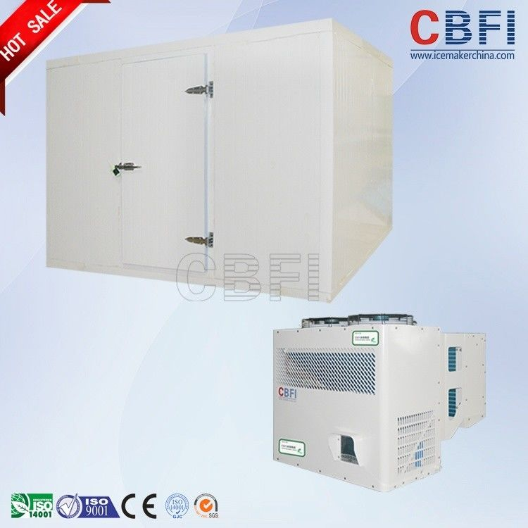 5HP - 50HP Semi Hermetic Piston Freezer Cold Room For Vegetables / Fruit Storage supplier