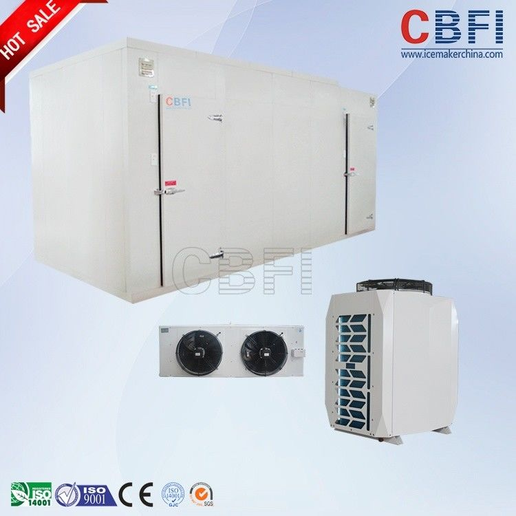 50mm - 200mm Thickness Commercial Freezer Room , Cold Room Chiller With Imported Compressor supplier
