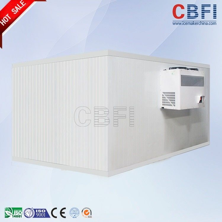 Stainless Steel Freezer Cold Room / Walk In Freezer For Food Storage supplier