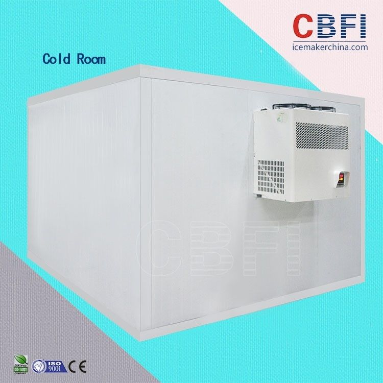 Moisture - Proof Waterproof 25HP Walk In Cold Room , Industrial Cold Room supplier