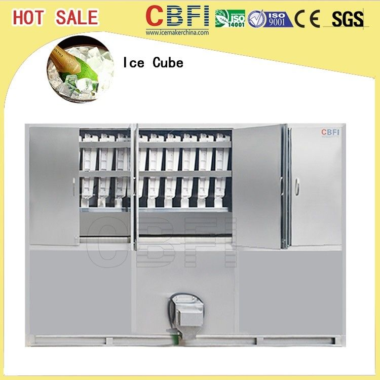 380V 50Hz 3P 5 Ton Ice Cube Machine With Low Power Consumption supplier