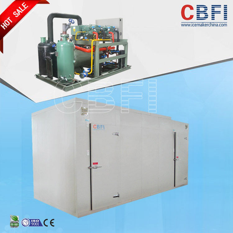 Seafood Fast Freezing Commercial Blast Freezer 150mm Thickness supplier