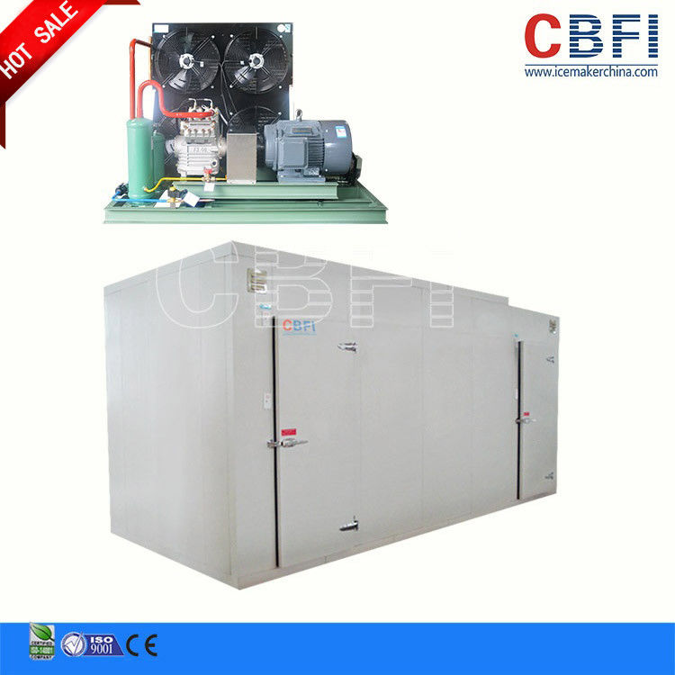 Customized Size Blast Freezer Cold Room / Blast Freezer For Chicken Fish Meat supplier