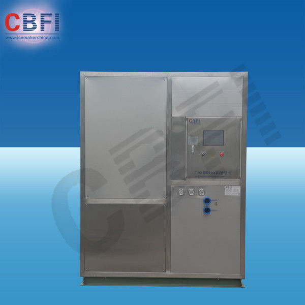 1 - 25Tons / 24h Fresh Water Plate Ice Machine with Water Air Evaporative Cooling supplier