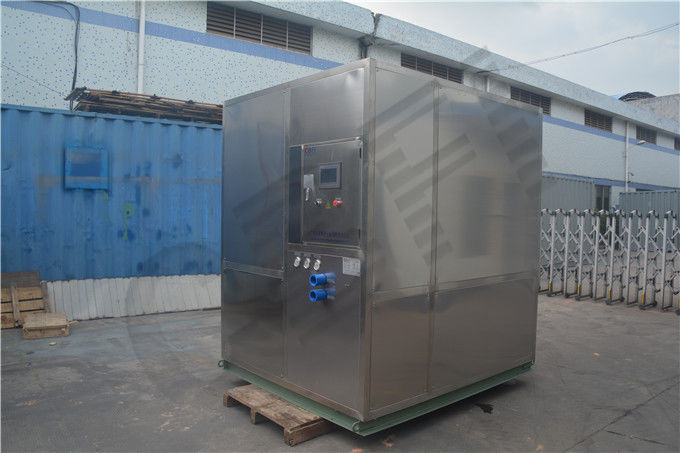 Freezing Seafood Meat Plate Ice Machine / Commercial Ice Makers High Output supplier