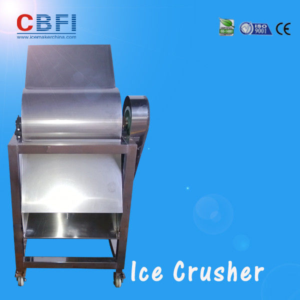 CBFI Stainless Steel 304 Ice Crusher Machine For Bars / Fast Food Shops supplier