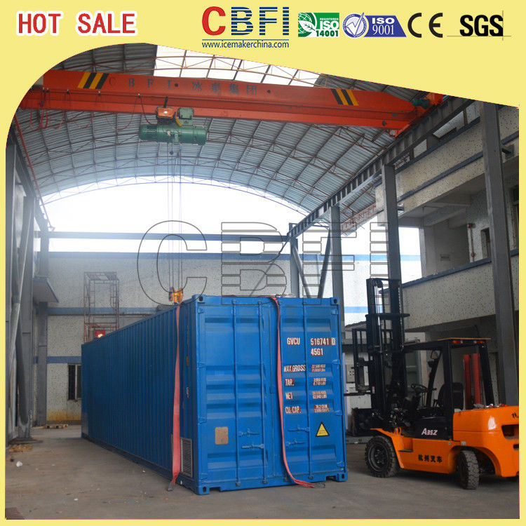 Second Hand Freezer Shipping Containers Cold Room For Fruits , Meat , Ice Storage supplier