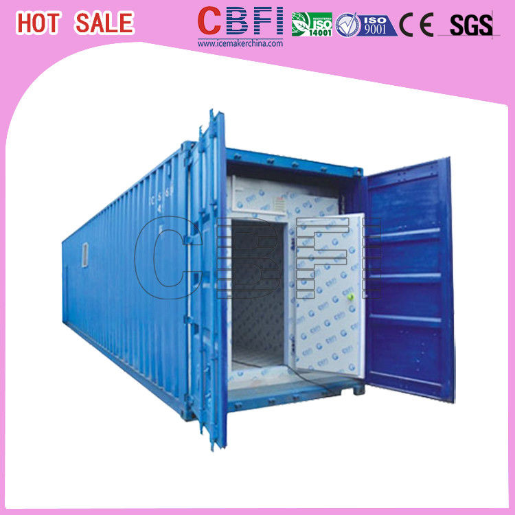 Temperature Controlled Cold Storage Containers Freezer Shipping