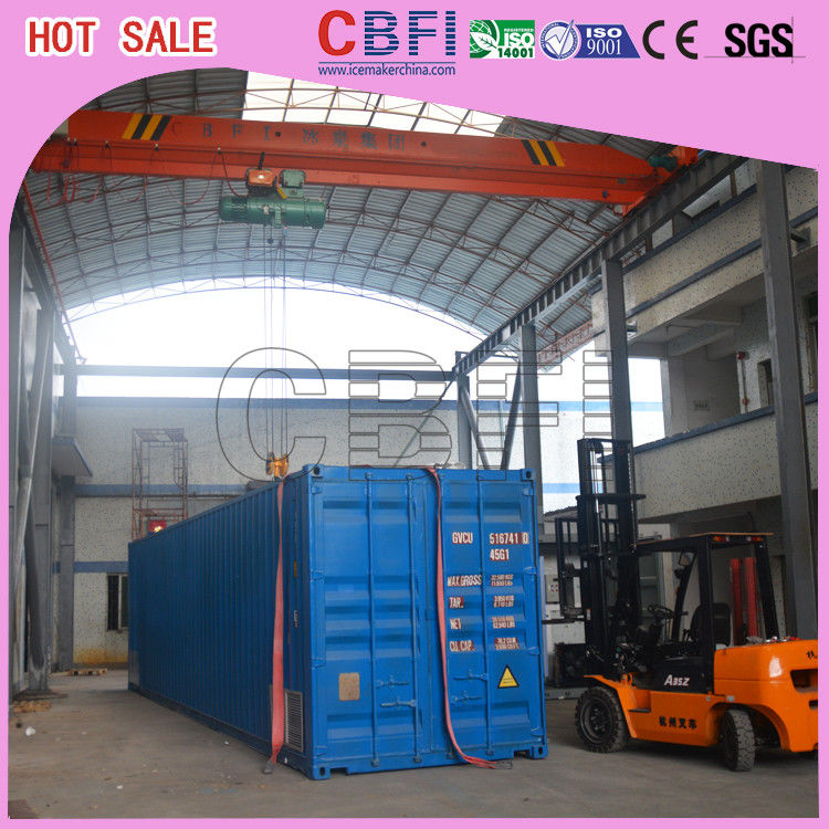 Intelligent Refrigeration Unit Container Cold Room Customized Small Size Capacity supplier