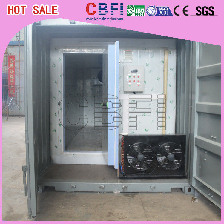 Quick Freezing Customized Container Cold Room 20 Ft Or 40 Ft Optional  supplier