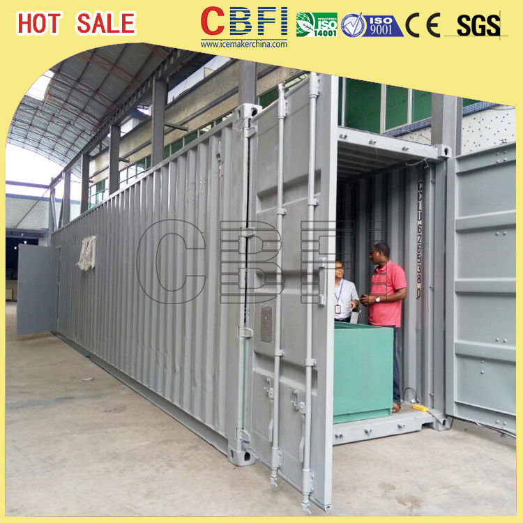 5 Ton Per Day Containerized Block Ice Machine, Ice Block Making Business  supplier