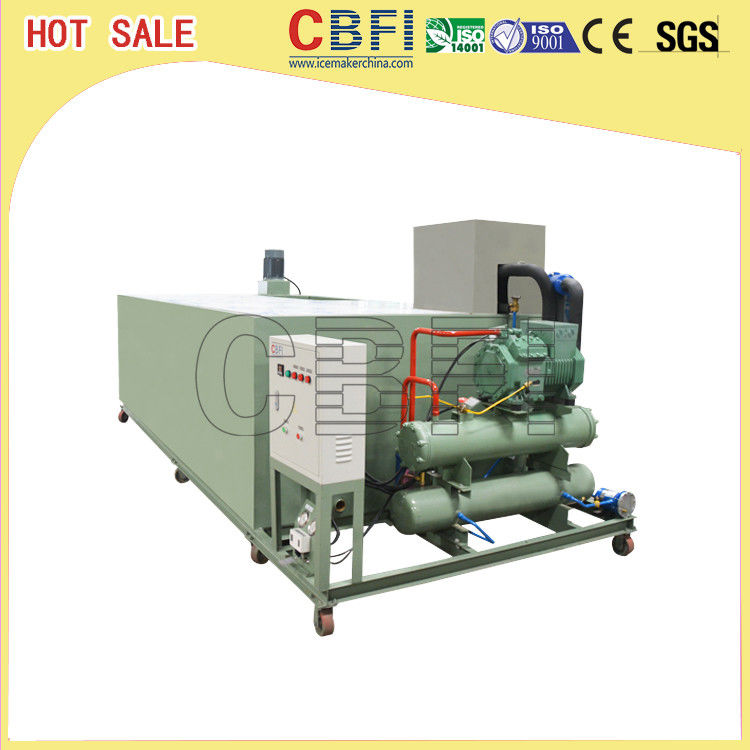 Stainless Steel Ice Block Machine , Ice Makers Commercial Energy Saving supplier