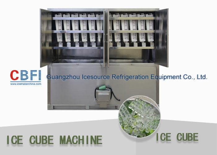 Used Ice Machine >> Commerical Used Ice Cube Machine With Semi Auto Packing For Middle East