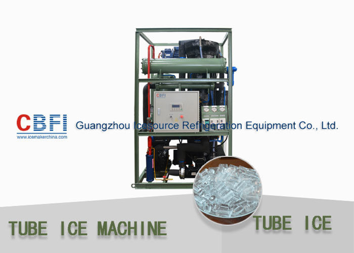 1 - 30 Ton Daily Capacity Tube Ice Machine For Bar , Restaurant , Hotel supplier