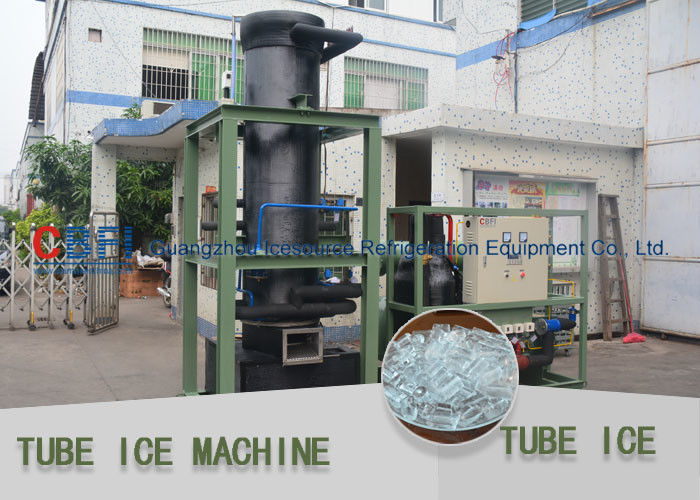 High Performence Tube Ice Maker / Ice Making Machines For Fast Food Shops Shop And Restaurant supplier