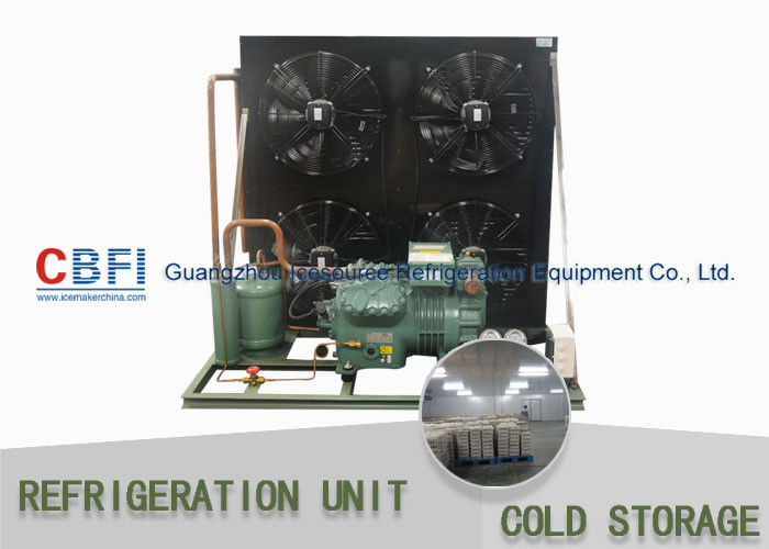 R134a Refrigerant Air Amp Water Cooling Unit Cold Storage