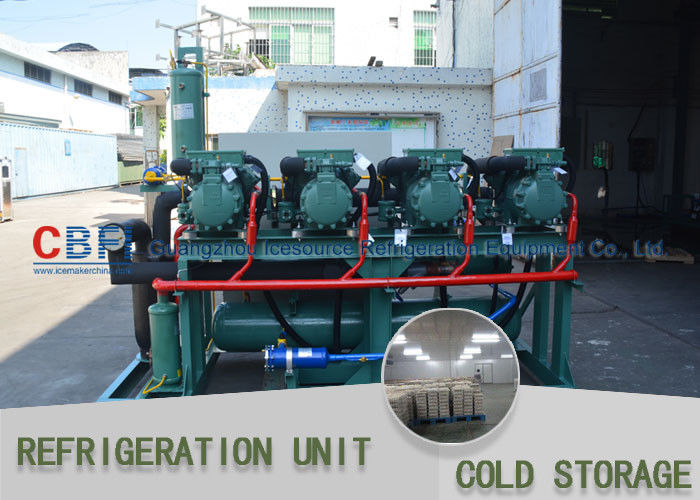 Full Automatic System Cold Storage Refrigerator / R22 R404a R134 Modular Cold Rooms supplier