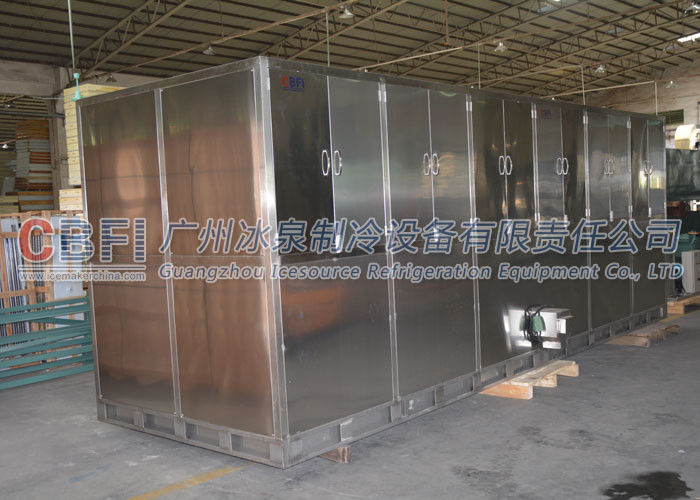 Large Daily Capacity Ice Cube Maker Machine / Making Machine 1000 Kg - 10000 Kg supplier