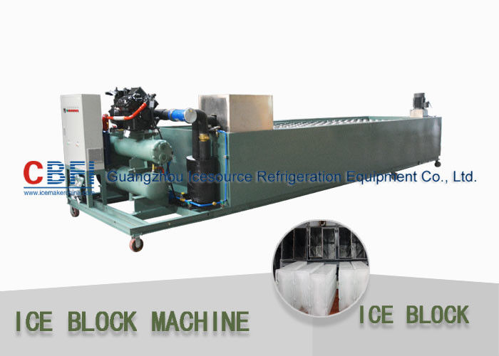 CBFI Stainless Steel Ice Block Maker 10 Ton / Day Industrial Ice Block Making Machine supplier