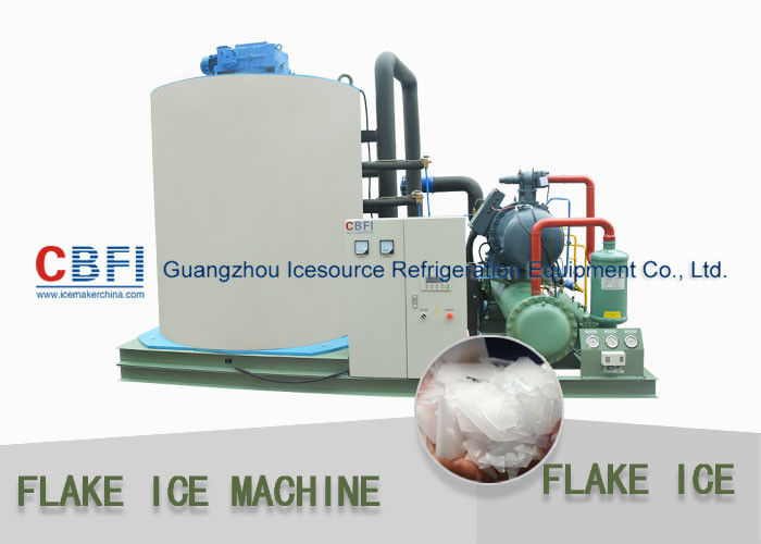 Customized 10 Tons Flake Ice Machine CBFI Compressor R22 Refrigerant supplier