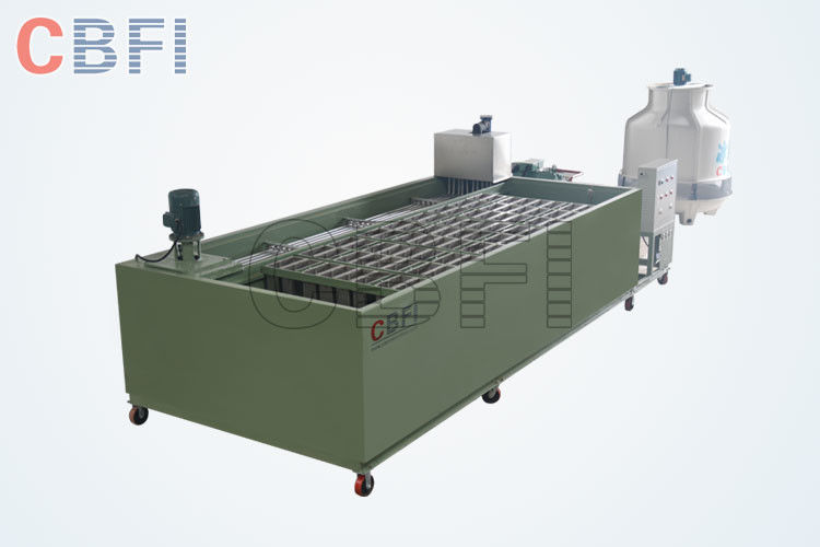 Bitzer Compressor Crane system for optional 5 Tons Ice Block Machine for Ice Plant supplier