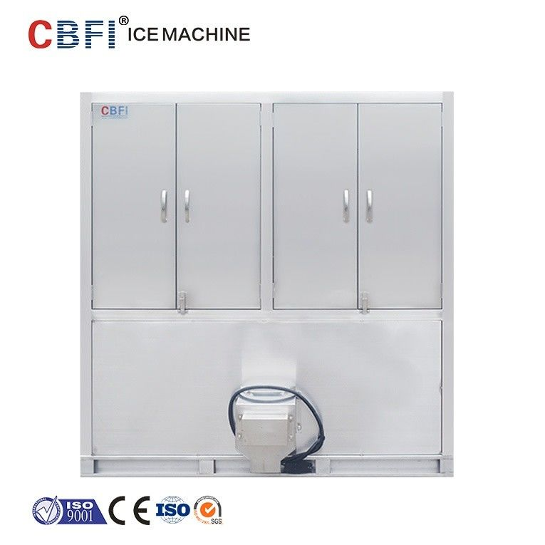 304 Stainless Steel Ice Cube Machine / Commercial Ice Maker supplier