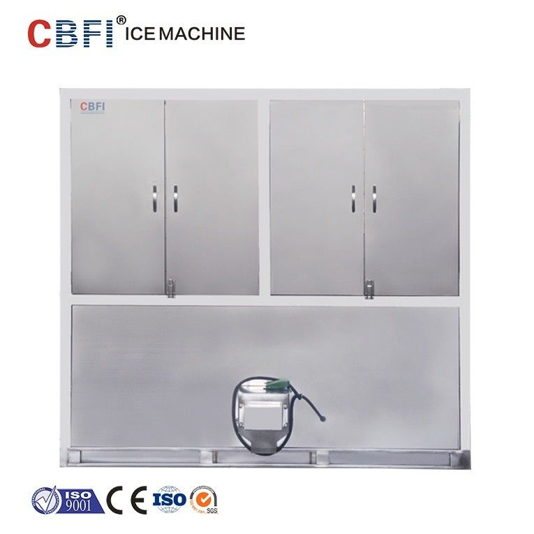 Air Cooling Ice Cube Maker Machine With Germany Bitzer Compressor supplier